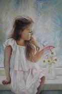 Picturi cu potrete/nuduri Fluture