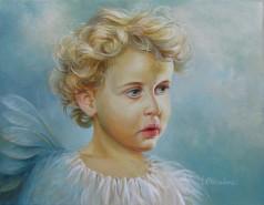 Picturi cu potrete/nuduri Little angel