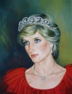 Picturi cu potrete/nuduri Printesa diana