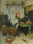 Picturi cu potrete/nuduri Lenesii