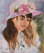 Picturi cu potrete/nuduri Portret de fata