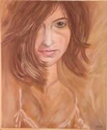Picturi cu potrete/nuduri Portret de fata 2