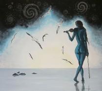 Picturi cu potrete/nuduri Bach