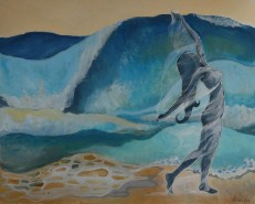 Picturi cu potrete/nuduri Ocean