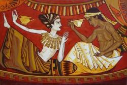 Picturi cu potrete/nuduri Motiv grec