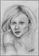 Picturi cu potrete/nuduri Vis de blonda