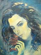 Picturi cu potrete/nuduri Anda serbanescu