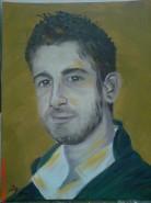 Picturi cu potrete/nuduri Portretul lui tony
