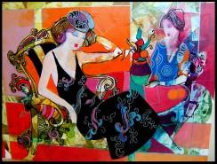 Picturi cu potrete/nuduri Coffe creme 2