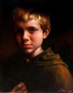Picturi cu potrete/nuduri Portret de baiat