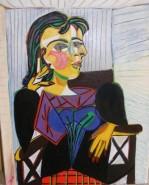 Picturi cu potrete/nuduri Portretul dorei maar