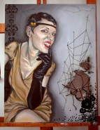 Picturi cu potrete/nuduri Cherchez la femme