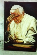 Picturi cu potrete/nuduri Papa i.p. al doilea