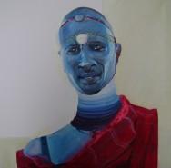 Picturi cu potrete/nuduri Barbatul padaung