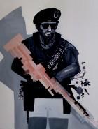 Picturi cu potrete/nuduri Soldatul
