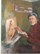 Picturi cu potrete/nuduri Autoportret