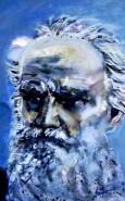 Picturi cu potrete/nuduri Portretul lui tolstoi