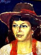Picturi cu potrete/nuduri Portretul unei doamne