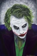 Picturi cu potrete/nuduri Joker