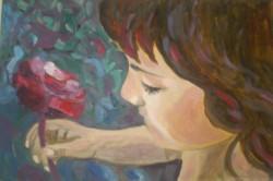 Picturi cu potrete/nuduri Trandafirul