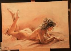 Picturi cu potrete/nuduri Cartea