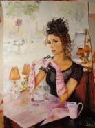 Picturi cu potrete/nuduri Frantuzoaica