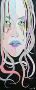 Picturi cu potrete/nuduri Fata trista