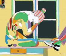 Picturi cu potrete/nuduri Te sun eu