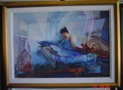 Picturi cu potrete/nuduri Balerina------41