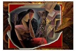 Picturi cu potrete/nuduri Ei detin secretul vietii--202