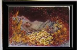 Picturi cu potrete/nuduri Vise aurii---79