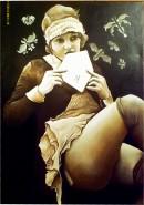 Picturi cu potrete/nuduri Flapper