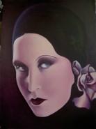 Picturi cu potrete/nuduri Portretul brigittei helm