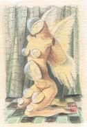 Picturi cu potrete/nuduri Ceas nud