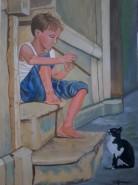 Picturi cu potrete/nuduri Fluierasul fermecat1