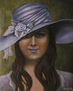 Picturi cu potrete/nuduri Hat 2