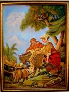 Picturi cu potrete/nuduri Magarusul