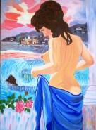 Picturi cu potrete/nuduri Ginditoare