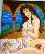 Picturi cu potrete/nuduri Triste