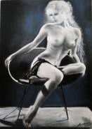Picturi cu potrete/nuduri Born for love