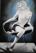 Picturi cu potrete/nuduri Born to love 2