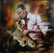 Picturi cu potrete/nuduri Saxophone