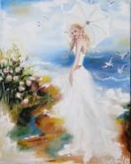 Picturi cu potrete/nuduri White day