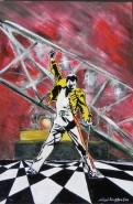 Picturi cu potrete/nuduri Freddie mercury oil painting