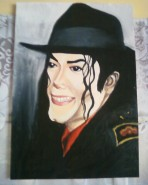 Picturi cu potrete/nuduri Michael jackson tip caricatura