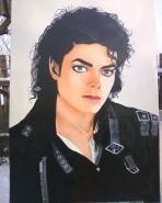 Picturi cu potrete/nuduri Michael jackson - bad