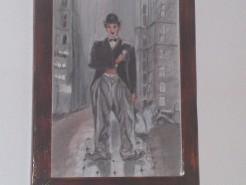 Picturi cu potrete/nuduri Chaplin