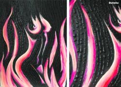 Picturi cu potrete/nuduri Burning desire