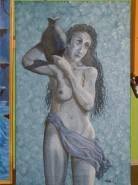 Picturi cu potrete/nuduri Ulciorul