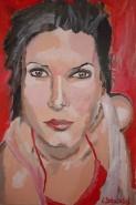 Picturi cu potrete/nuduri Sandra